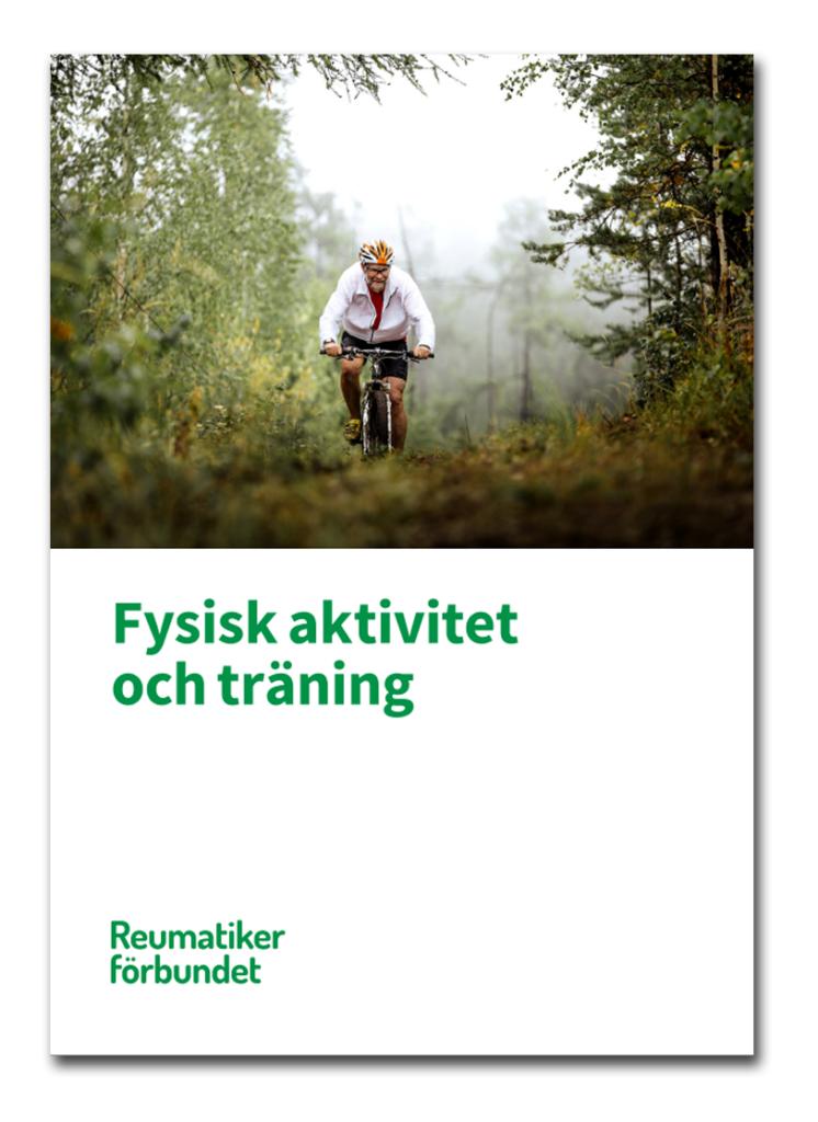 Broschyr fysisk aktivitet och träning